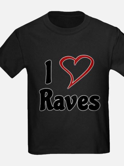 I Love Raves T-Shirt