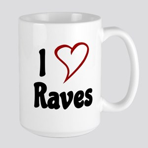 I Love Raves Mugs