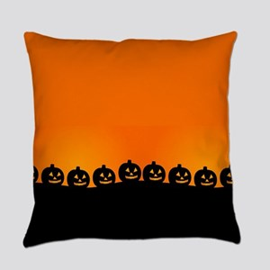 Spooky Halloween Pumpkins Everyday Pillow