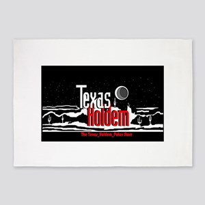 The Texas Holdem Poker Store 5'x7'Area Rug