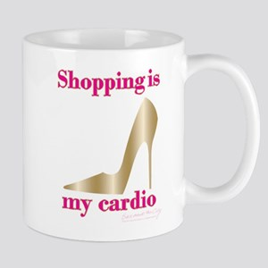 SATC Shopping Is My Cardio 11 oz Ceramic Mug