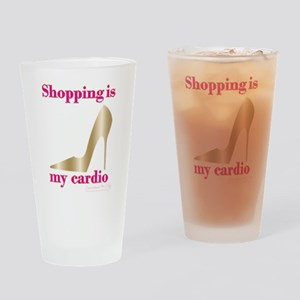 SATC Shopping Is My Cardio Drinking Glass
