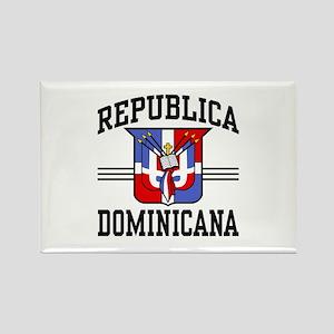 Republica Dominicana Rectangle Magnet