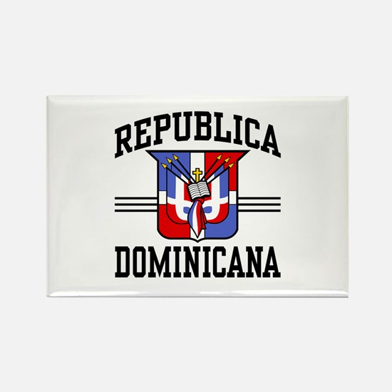 Republica Dominicana Rectangle Magnet