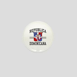 Republica Dominicana Mini Button