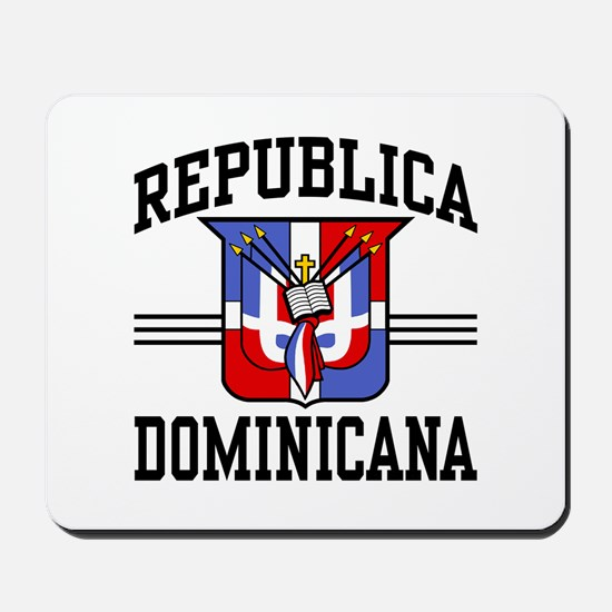Republica Dominicana Mousepad