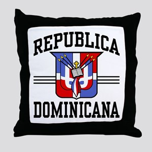 Republica Dominicana Throw Pillow