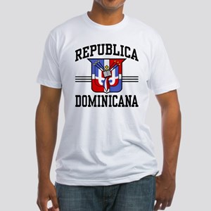 Republica Dominicana Fitted T-Shirt