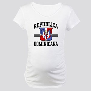 Republica Dominicana Maternity T-Shirt