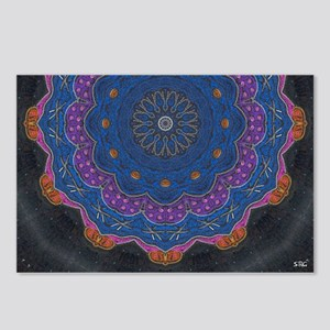 Alchemy Art Mandala Postcards (Package of 8)