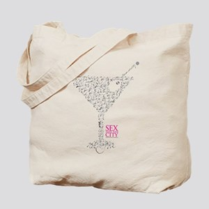Sex and the City Martini Glass Tote Bag
