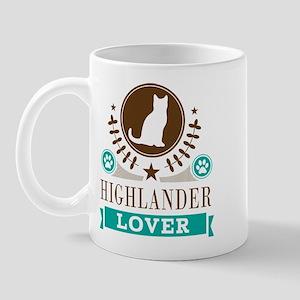 Highlander Cat Lover Mug