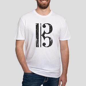 Distressed Alto Clef C- T-Shirt