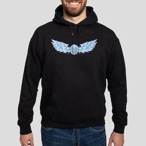 Blue Flying Trilo Hoodie (dark)