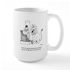 Diet Cartoon 3028 Large Mug