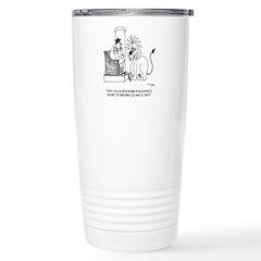 Diet Cartoon 3028 Stainless Steel Travel Mug