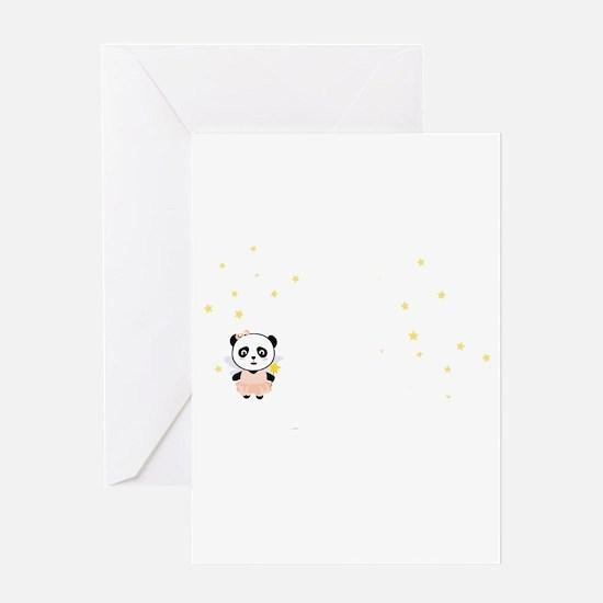 Cutest Kids Panda born in February Greeting Cards
