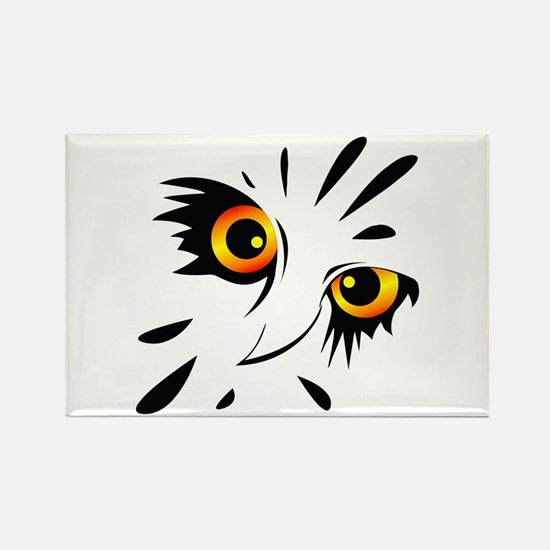 Night Owl- Rectangle Magnet (10 pack)