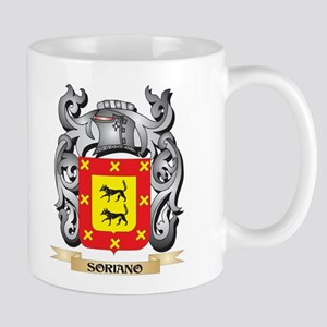 Soriano Coat of Arms - Family Crest Mugs