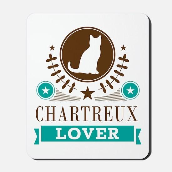 Chartreux Cat Lover Mousepad