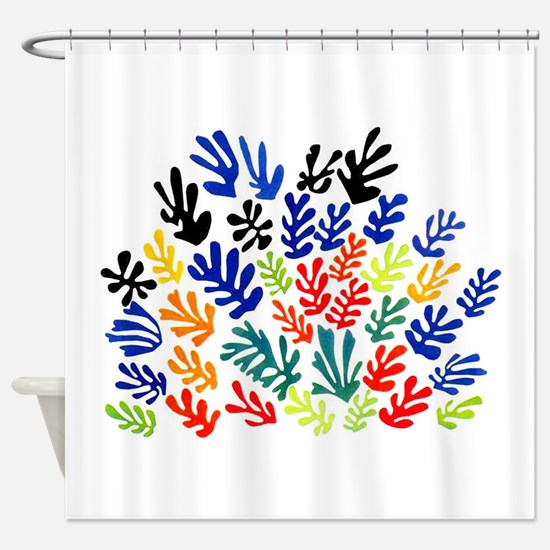 MATISSE LEAVES Shower Curtain
