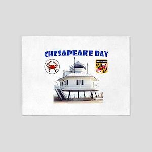 Chesapeake Bay 5'x7'area Rug