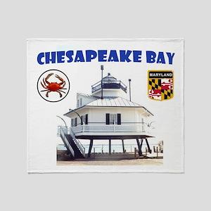 Chesapeake Bay Throw Blanket