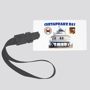Chesapeake Bay Large Luggage Tag
