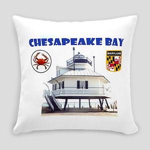 Chesapeake Bay Everyday Pillow