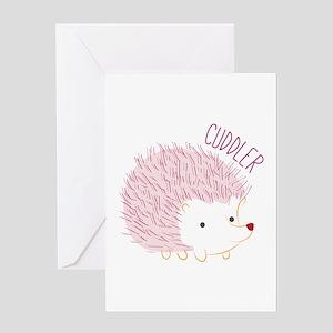 Cuddler Greeting Cards