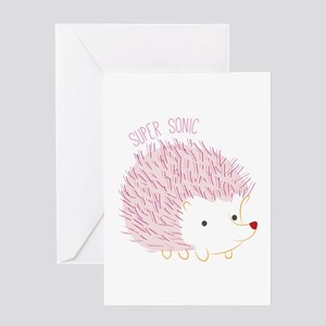 Super Sonic Greeting Cards