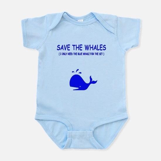 Saving the Whales Infant Bodysuit