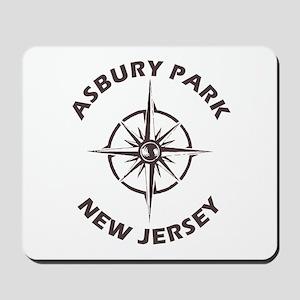 New Jersey - Asbury Park Mousepad