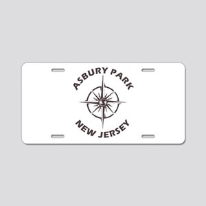 New Jersey - Asbury Park Aluminum License Plate