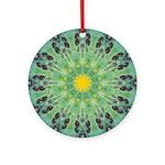 Miracle Art Mandala Ornament (Round)