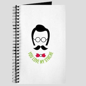 Love My Stache Journal