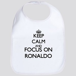 Keep Calm and Focus on Ronaldo Bib