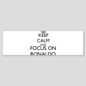 Keep Calm and Focus on Ronaldo Bumper Sticker