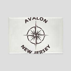 New Jersey - Avalon Magnets