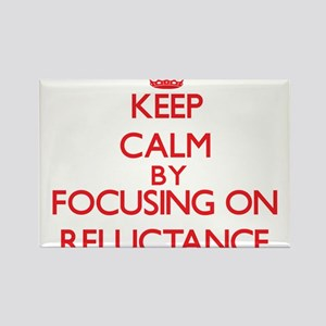 Keep Calm by focusing on Reluctance Magnets