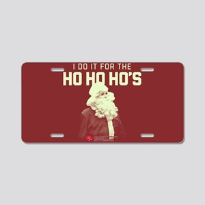 Lucy Ho Ho Ho's Aluminum License Plate