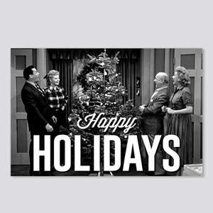 Lucy Happy Holidays Postcards (Package of 8)