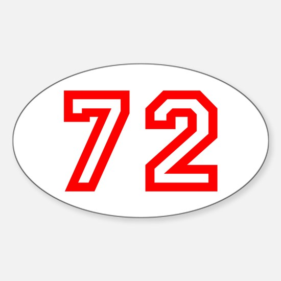 72 Decal