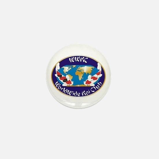 Cute Worldwide Mini Button