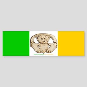 Irish Claddagh Bumper Sticker