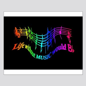 Life without Music would B flat Humor quote Small