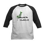 Alien Baby Kids Baseball Jersey