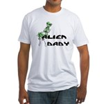 Alien Baby Fitted T-Shirt