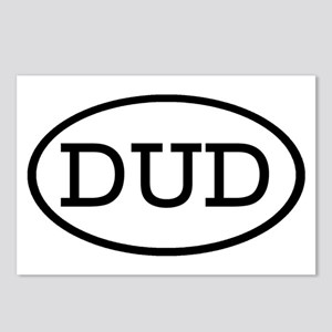 DUD Oval Postcards (Package of 8)