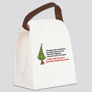 Mauss Gift Giving Canvas Lunch Bag